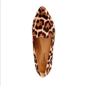 Time And Tru Cheetah Animal Print Feather Flats